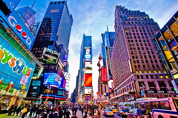 Times Square, Manhattan, New York City, 42nd Street