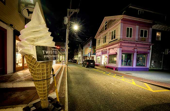 Nighttime Provincetown