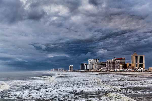 Storm Clouds, Atlantic City, New Jersey