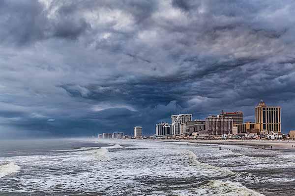 Storm Clouds, Atlantic City, New Jersey