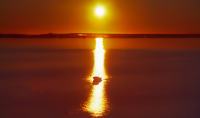 Sunrise over Cape Cod Bay