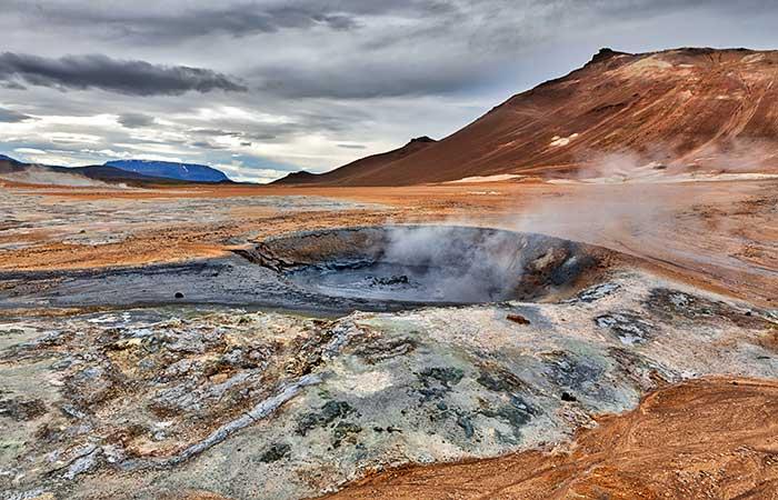 alien planet, Iceland, Hverarond