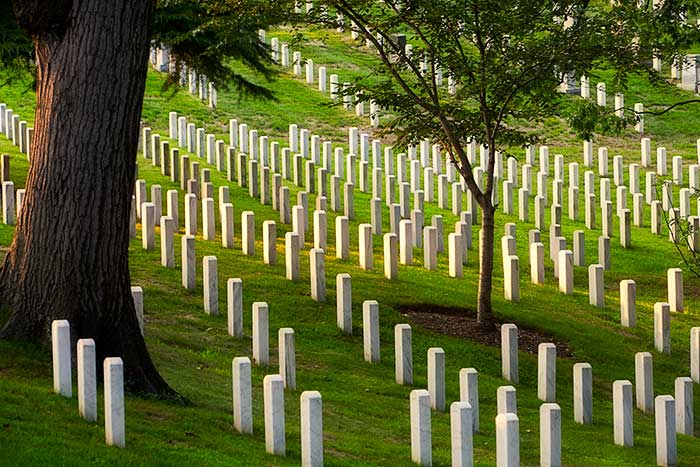 Memorial Day, Arlington National Cemetery, Washington DC
