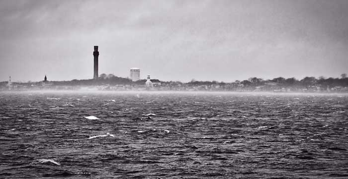 Stormy Provincetown