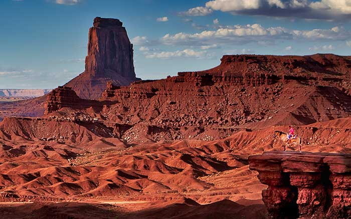 Navajo in the Valley, Monument Valley, American Indian, Native American, Navajo Nation, Horse