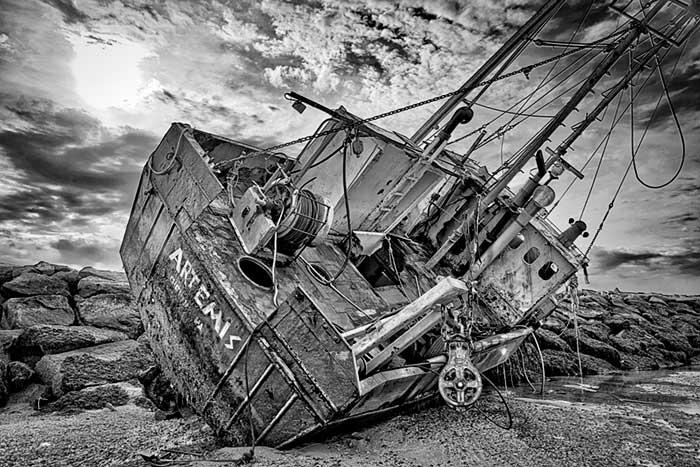 Shipwreck, Provincetown, Cape Cod