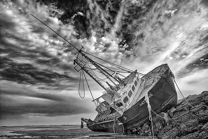 Abandoned Ship, Cape Cod, Provincetown
