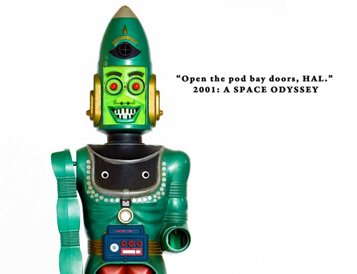2001: A Space Odyssey, Robot, Big Loo
