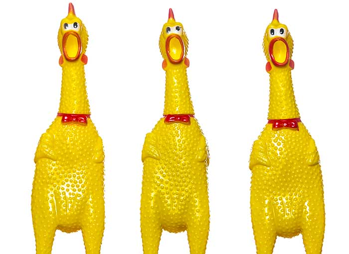 Merry Christmas Dad, Rubber Chicken, Gift, Present