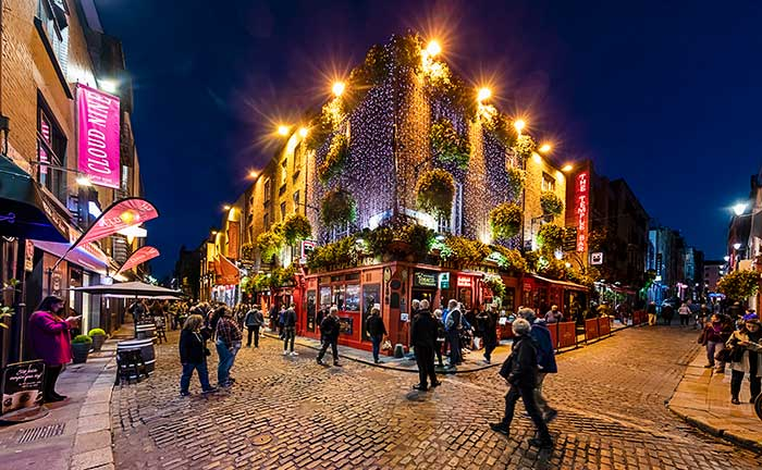 Temple Bar District, Dublin, Ireland