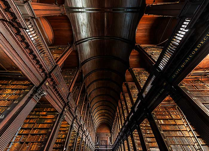 the library, Ireland