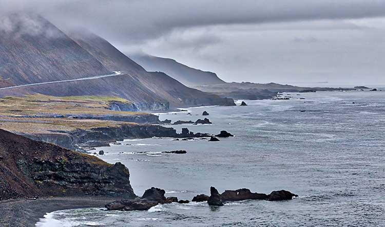 On the East Coast of Iceland