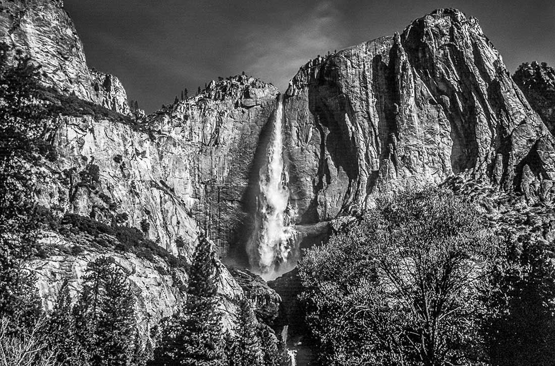 Bridalveill Fall in Yosemite National Park