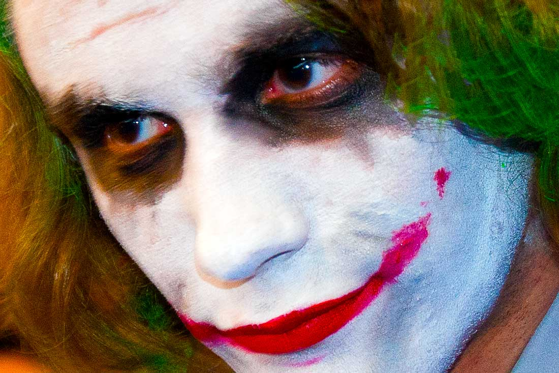 The Joker at Comic Con Convention