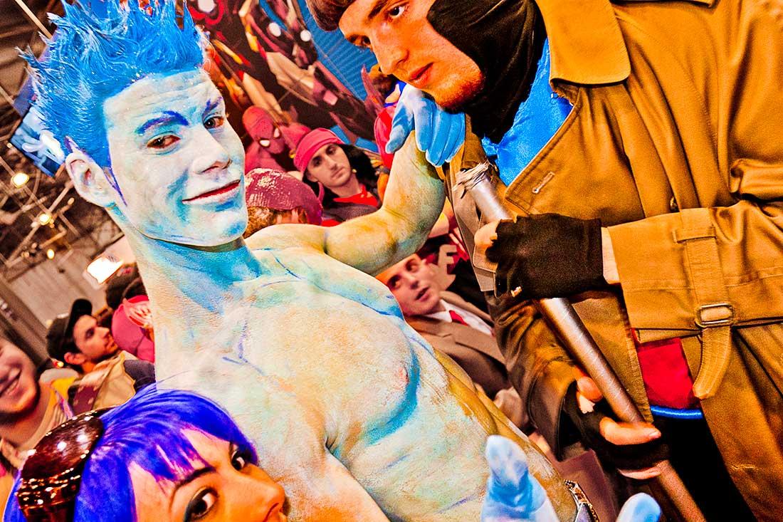 X Men at the Comic Con Convention