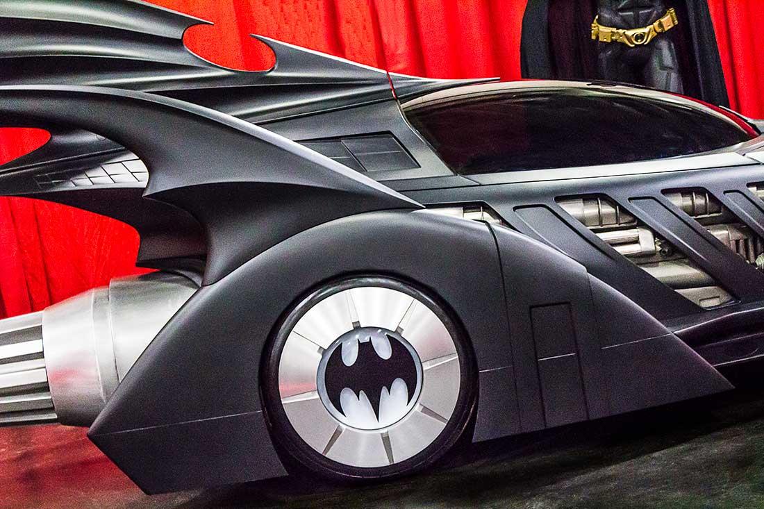 The Batmobile at the Comic Con Convention