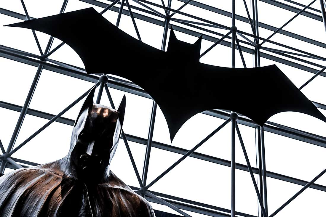 Batman at the Comic Con Convention