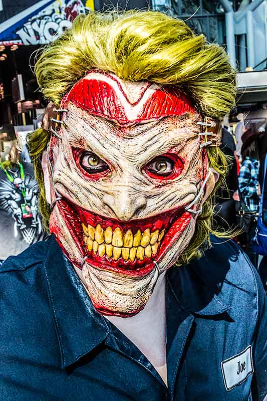 The Joker at the Comic Con Convention