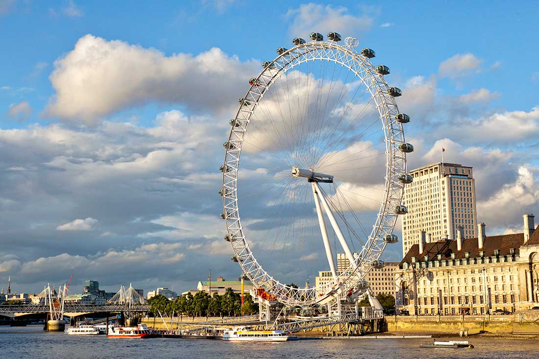 The London Eye.
