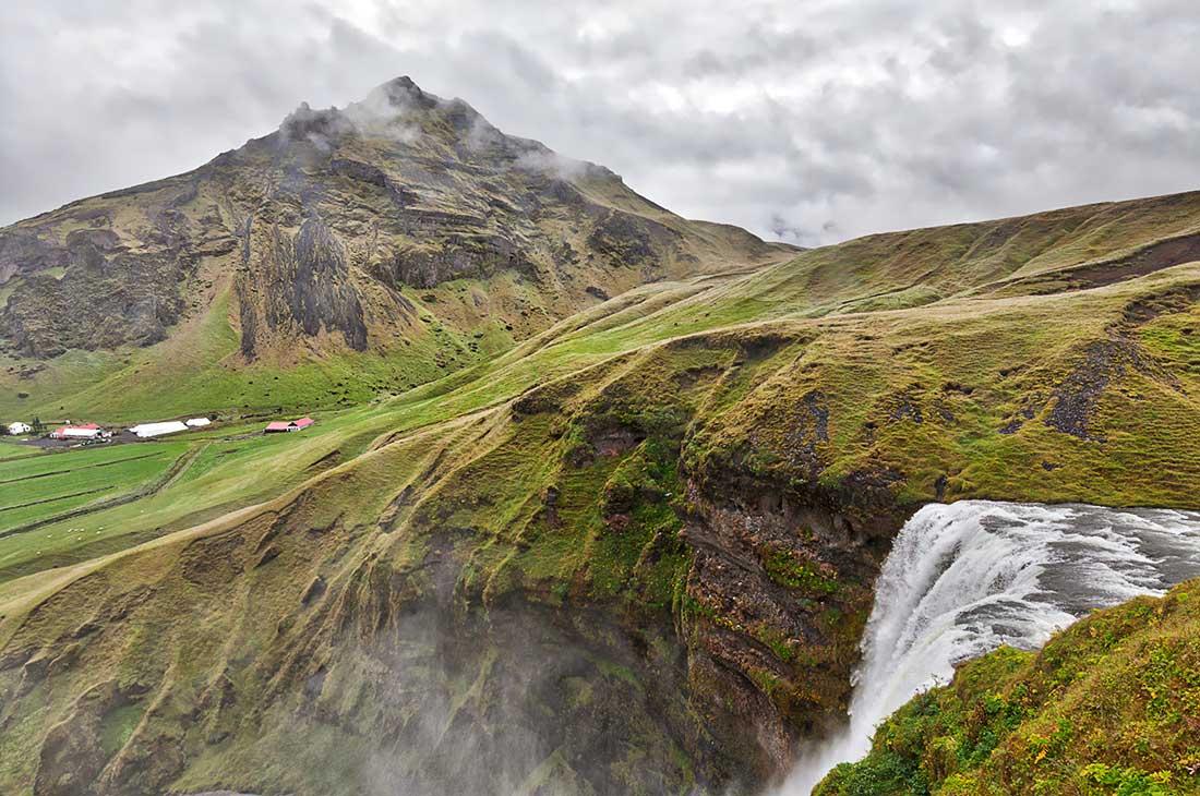 Skogafoss in Iceland.