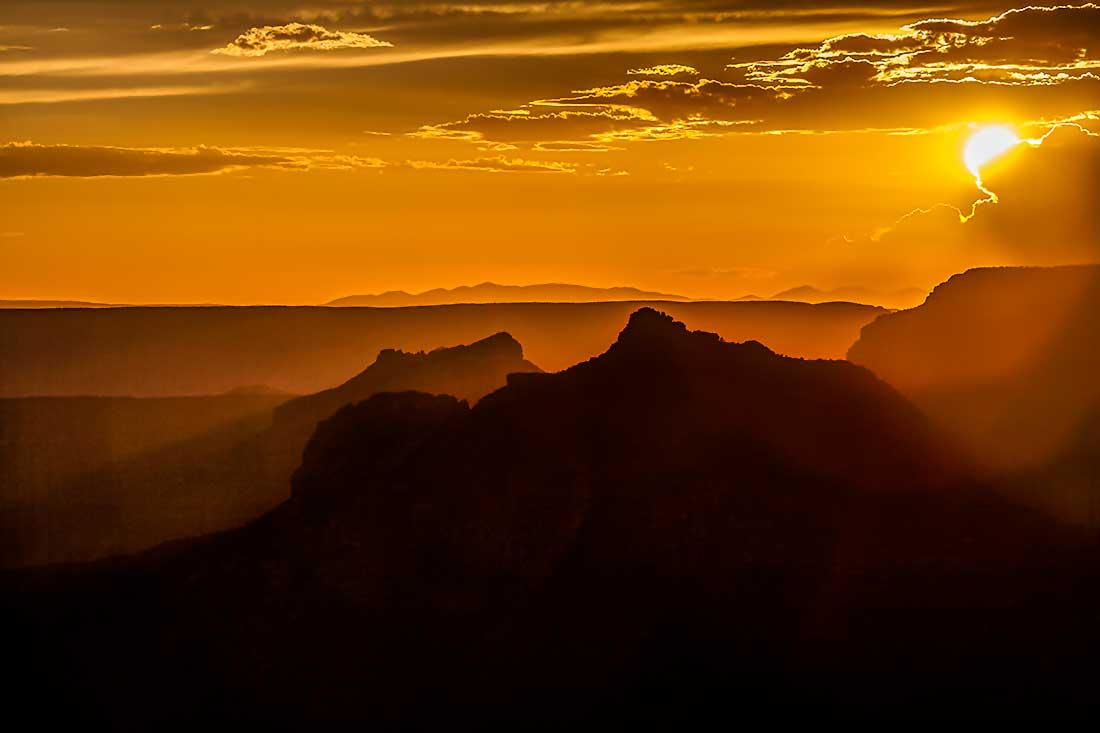 Grand Canyon Sunset on the North Rim