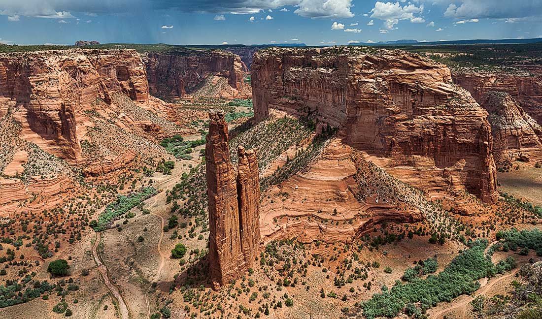 Canyon de Chelly National Monument, Arizona.