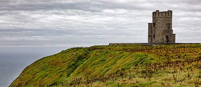 Cliffs of Moher, O'Brien's Tower, Ireland