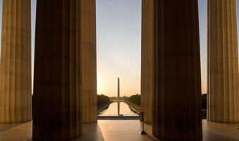Sunrise in Washington