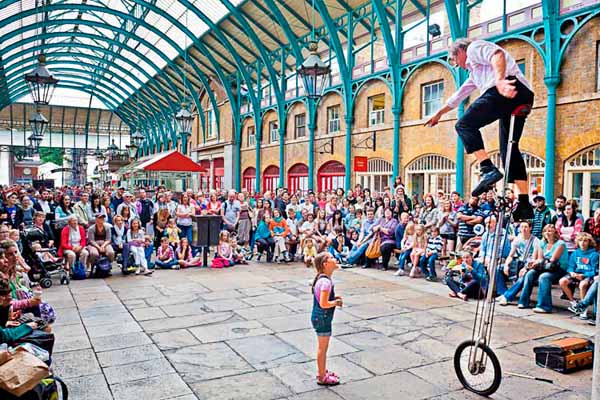 Man on a Unicycle