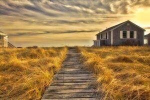 Sunset on Cape Cod