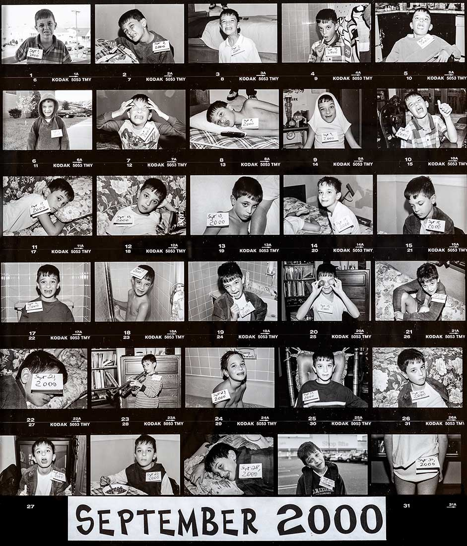 20th Century Young Man Portrait