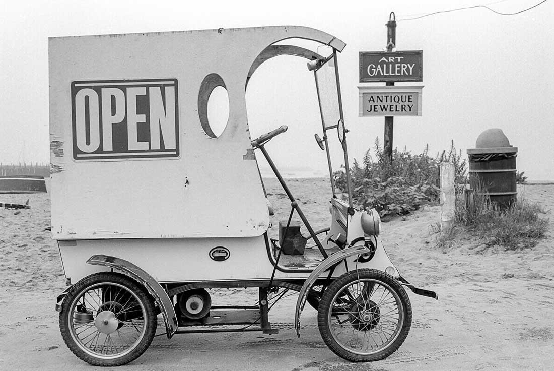 Antique Wooden Vehicle.
