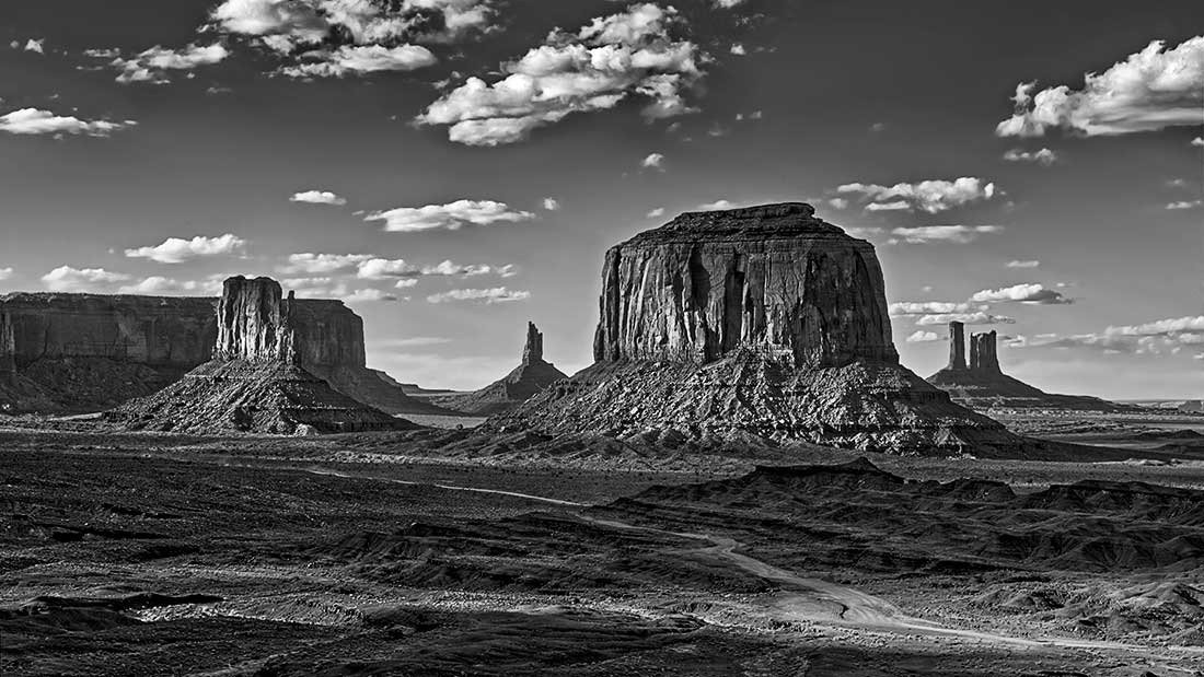 Monument Valley on the Navajo Nation in Arizona.