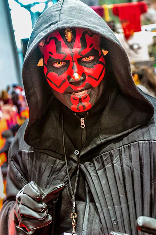 Darth Maul at the Comic Con Convention
