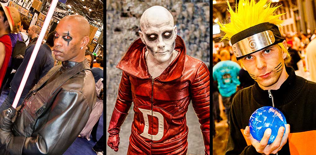 Deadman at the Comic Con Convention