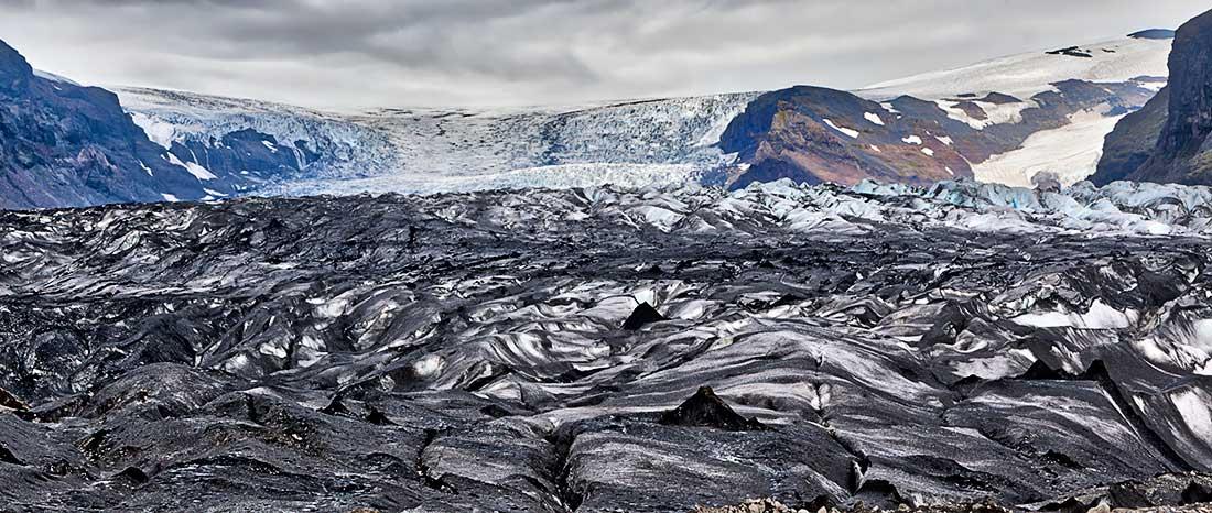 Skaftafell National Park, Iceland.