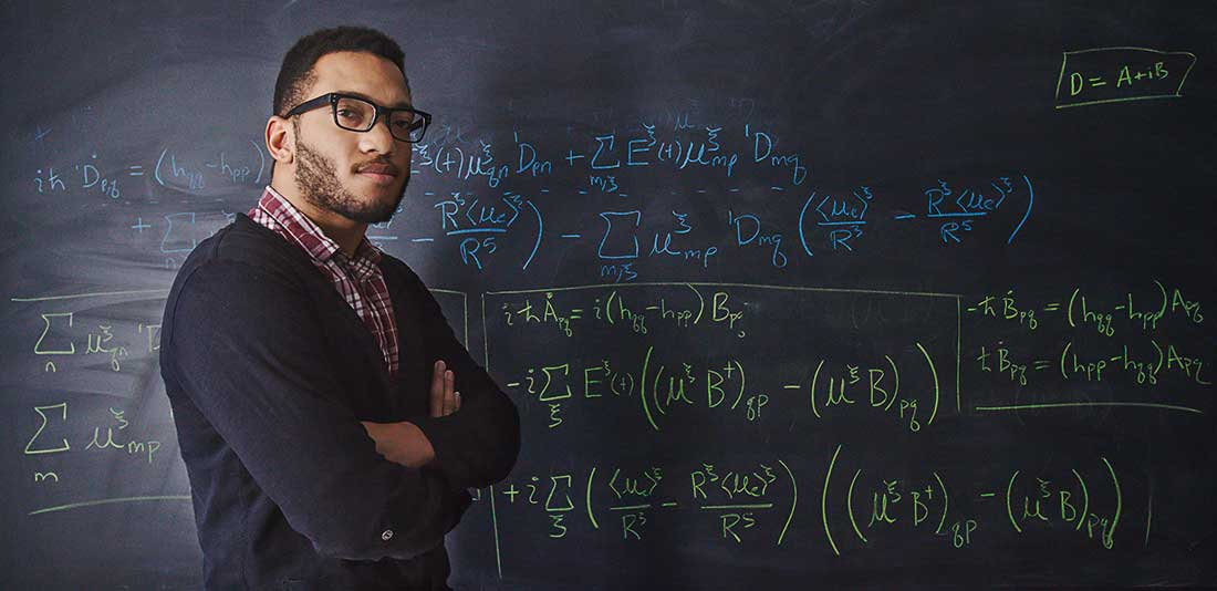 Professional Portrait of a college professor.