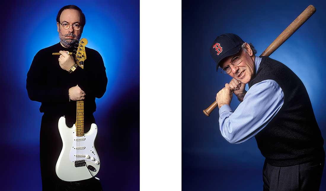 Professional Portrait of two men.