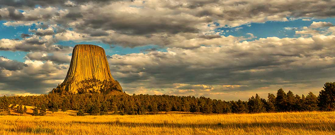 Devils Tower Monument, Wyoming.