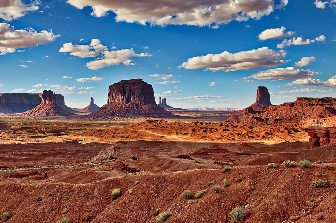 Monument Valley, Navajo Nation, Arizona.